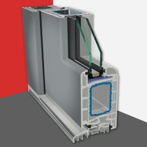 Gealan S 8000 IQ<br>ajtórendszer