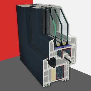 Okenný systém<br>Gealan FUTURA