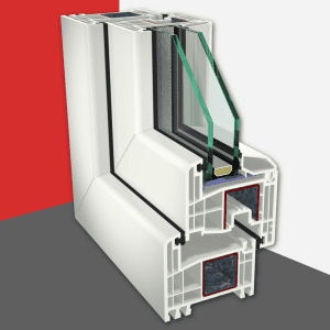 Okenný systém<br>Gealan S 8000 IQ