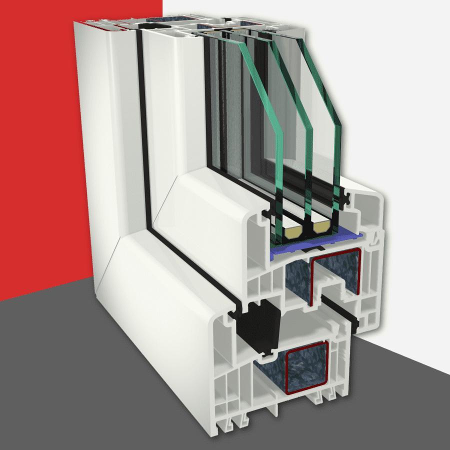 Gealan S 9000 ablakrendszer - Geri Door s.r.o.