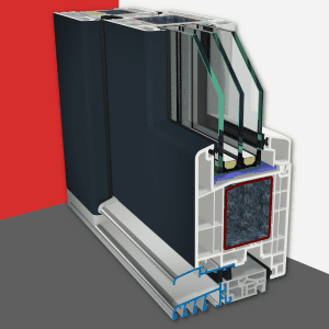 Dverový systém<br>Gealan S 9000